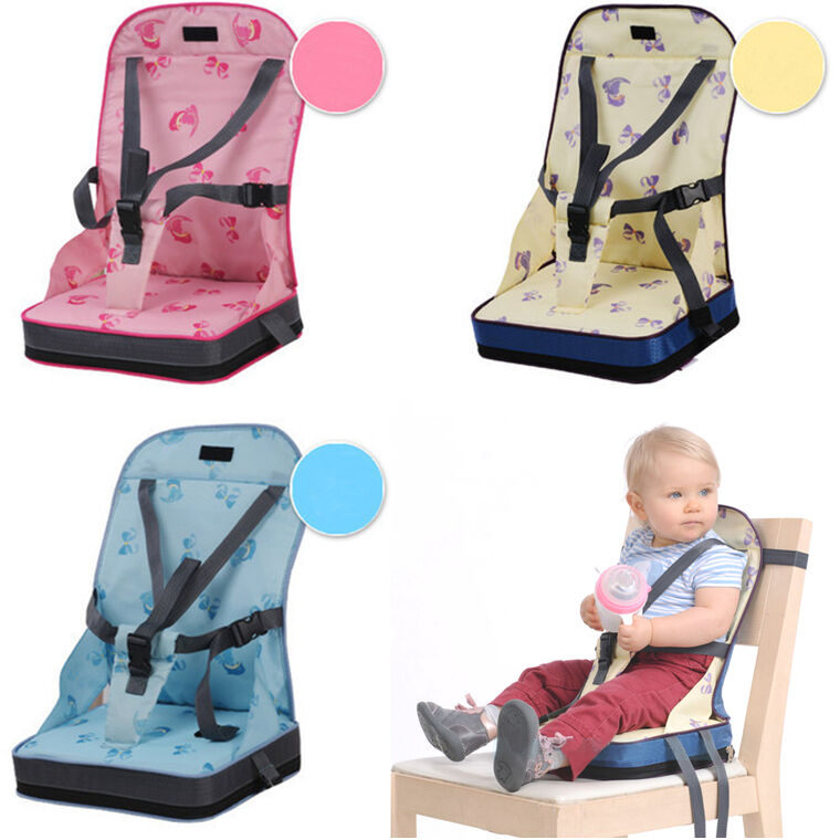 portable baby kids toddler feeding high chair booster seat cover harness cushion ebay. Black Bedroom Furniture Sets. Home Design Ideas