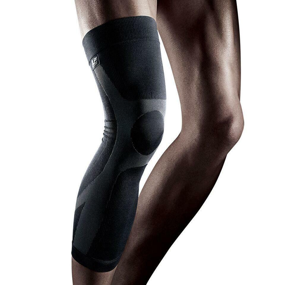 lp272 power knee support sleeve knee compression sleeves calf thigh run supports ebay. Black Bedroom Furniture Sets. Home Design Ideas