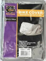Weatherproof Lightweight Compact Bike Bicycle Cycle Cover 180cm x 100cm Grey