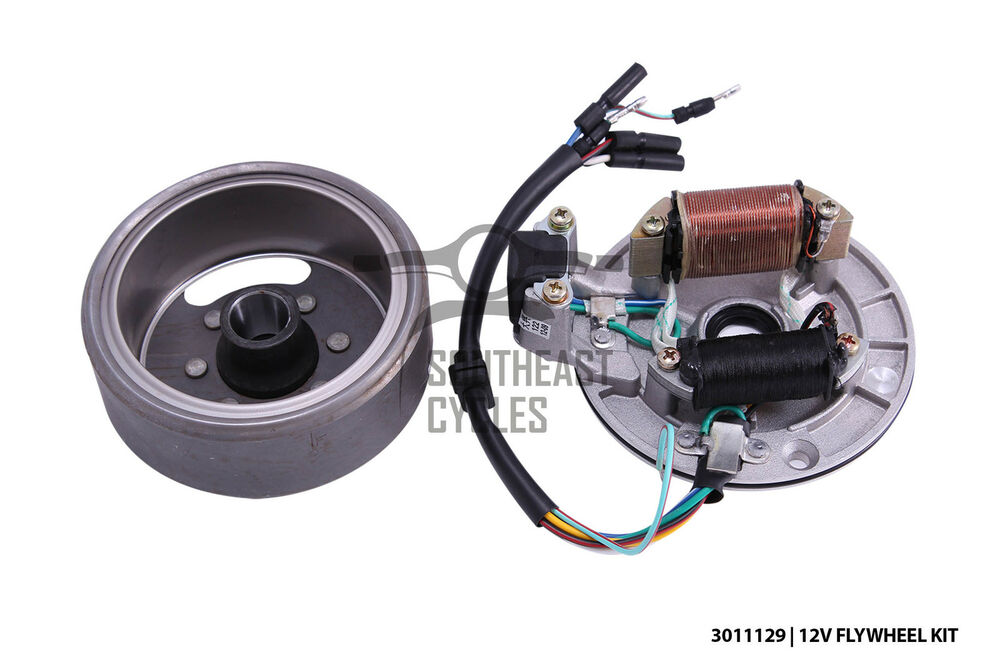 12v Cdi Electric Flywheel Assembly Magneto And Stator