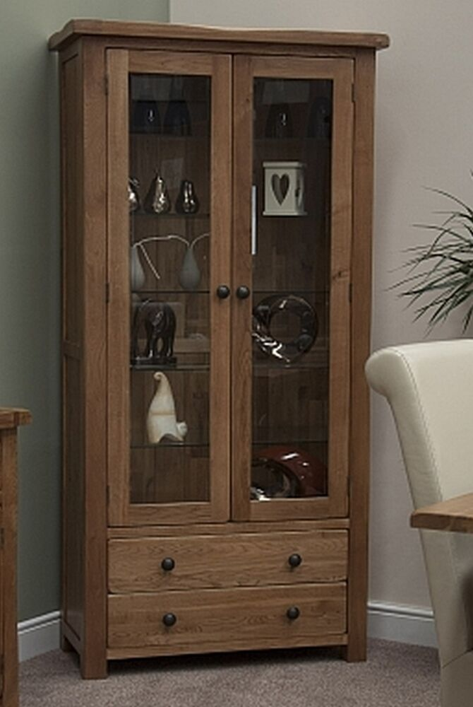 glass units for living room tilson solid rustic oak living room furniture glass 22868