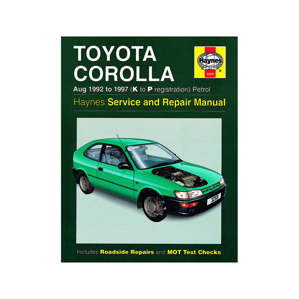 Toyota Corolla Repair Manual: On–vehicle inspection