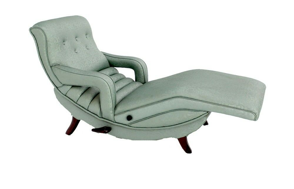 Mid century modern adjustable lounge chaise chair ebay - Mid century chaise lounge chair ...