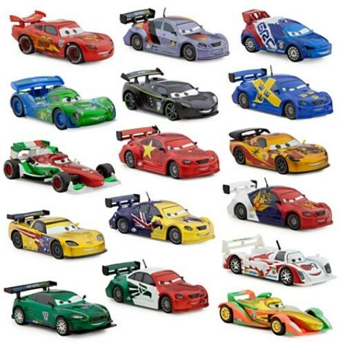 Cars 1 And 2 Toys : Disney cars diecast car new loose large metallic