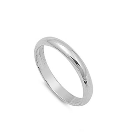 personalized 3mm sterling silver promise ring free