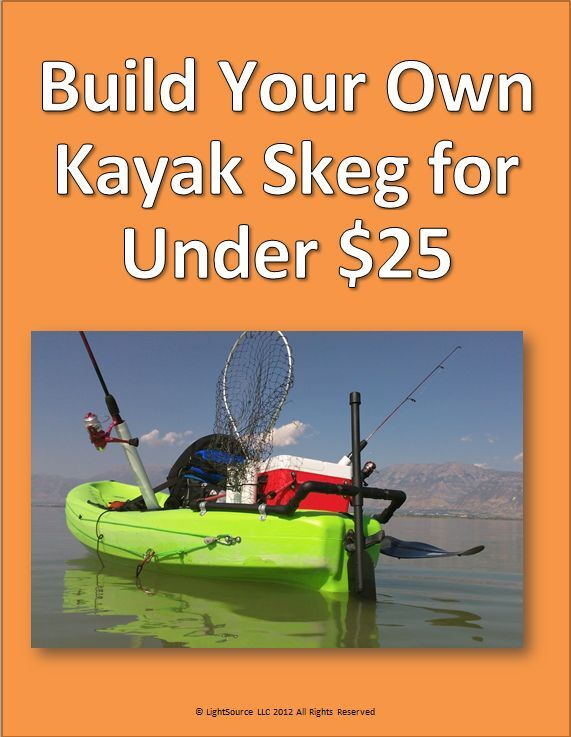 Build your own kayak skeg for under 25 easy to follow for Fishing kayak under 300