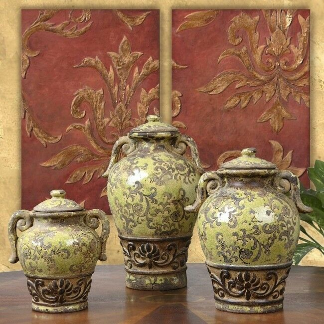 3 french tuscan italian style old world rustic for Italian decor