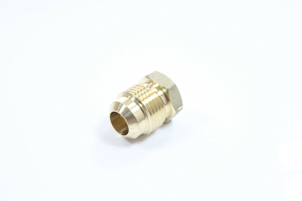 Pack of new brass flare quot od plug tube