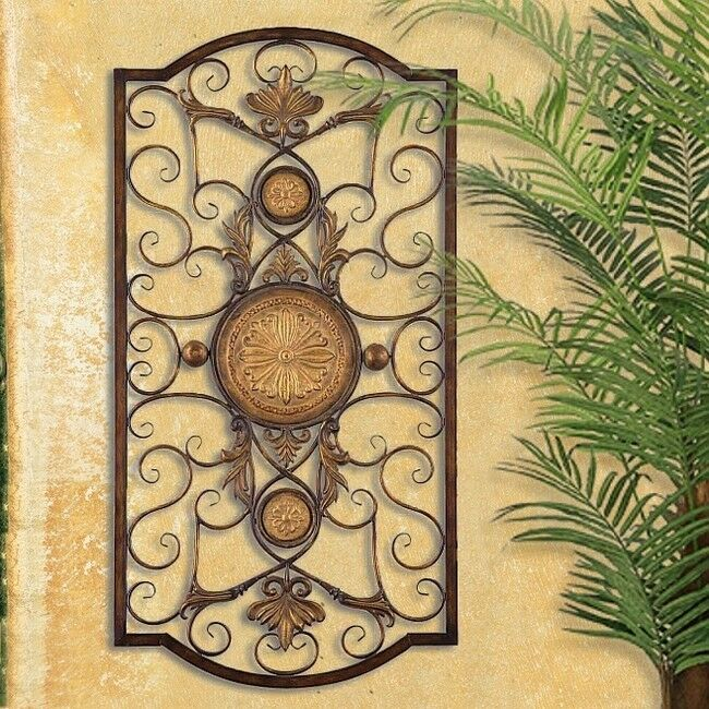 TUSCAN ITALIAN Old World MEDITERRANEAN Style WALL GRILLE
