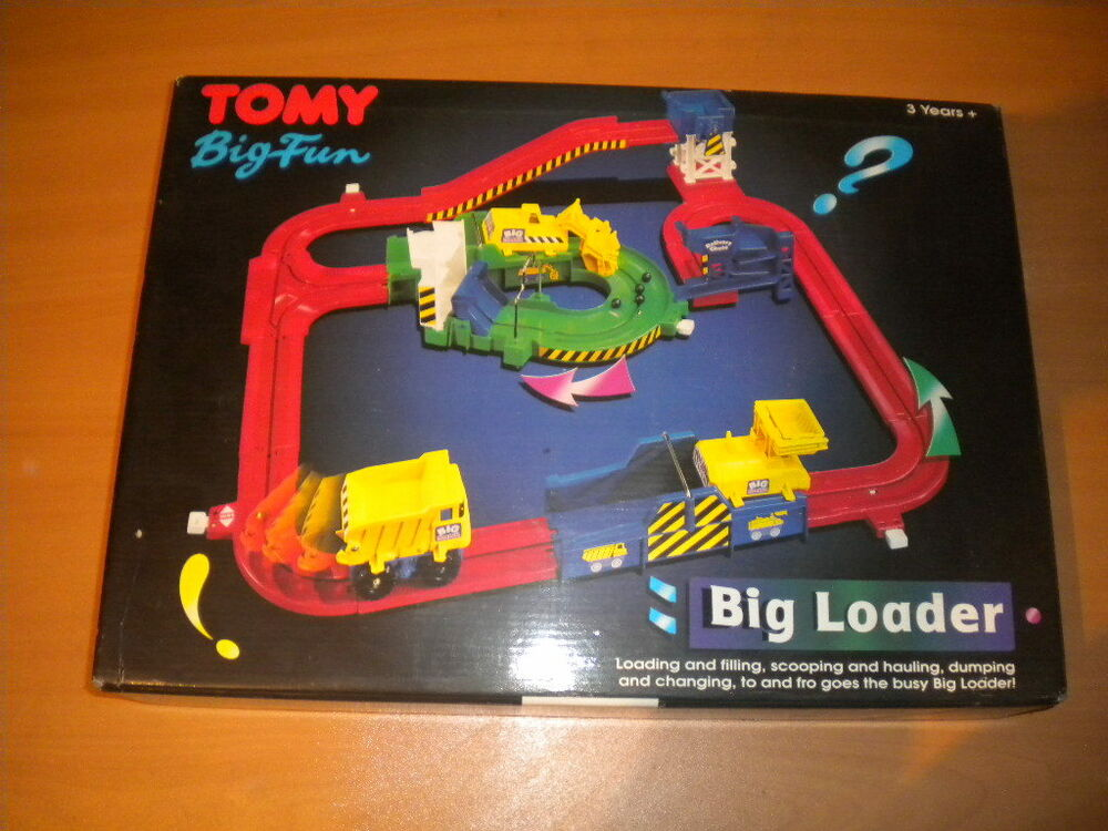 Rare Toys From The 80s : S vintage tomy big fun loader toy mint in box mib