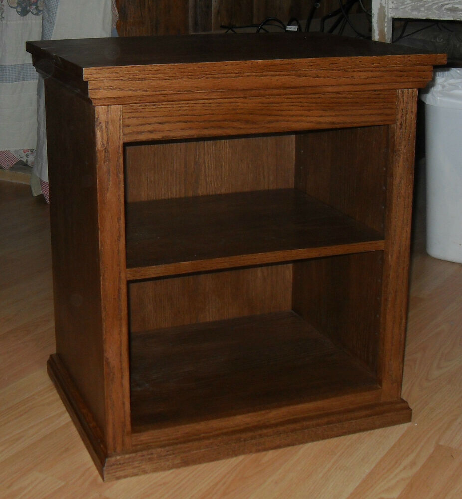 Wooden Printer Tables ~ New oak printer stand night end table handmade