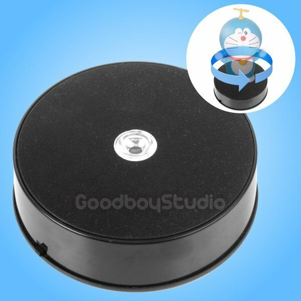 1kg loading 14cm led 3d photo 360 rotating display stand for Motorized turntable heavy duty