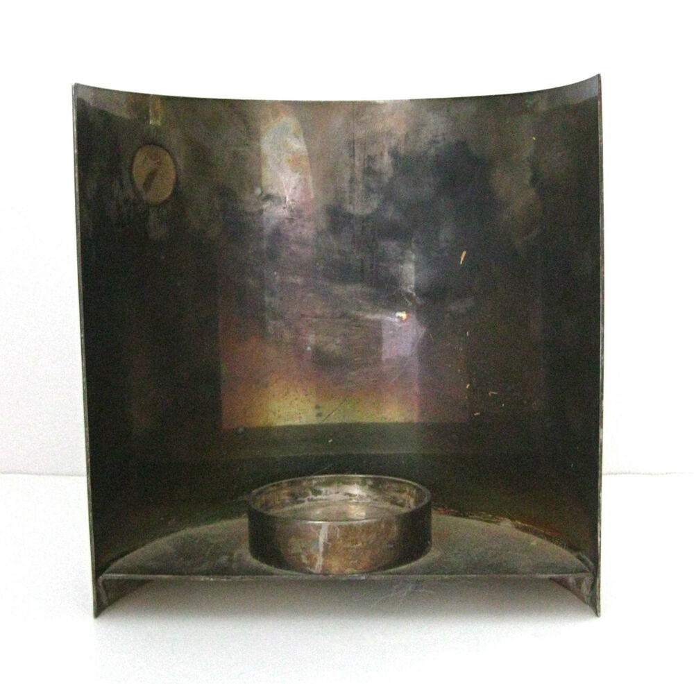 Restoration Hardware Ebay: Restoration Hardware Silver Mod Curled Metal Votive Candle