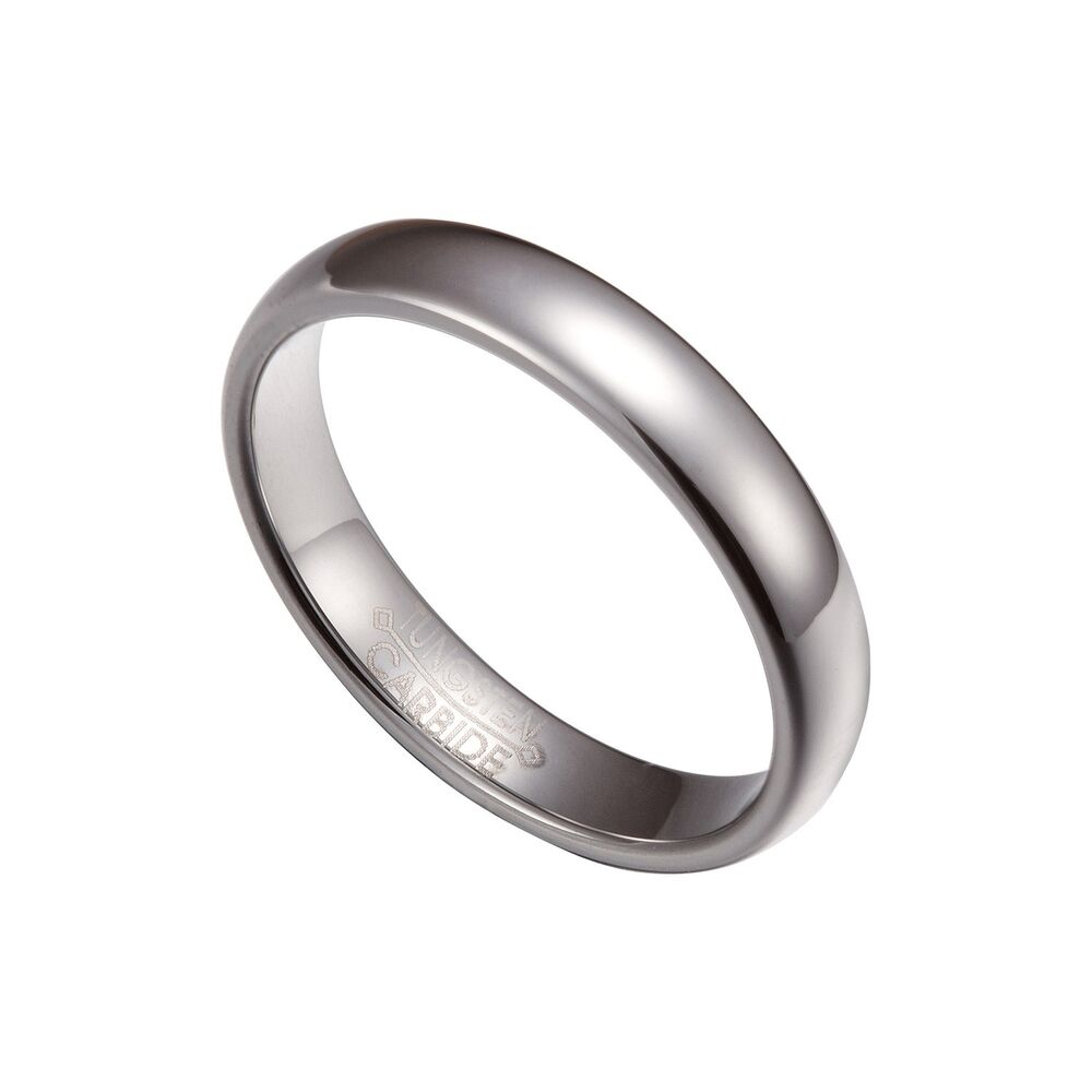 4mm comfort fit plain rings wedding band size 4 12 tg026 ebay