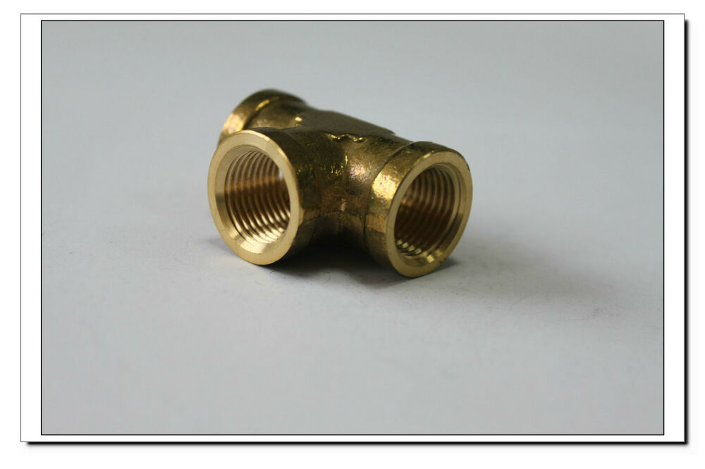 Lot of new brass pipe fitting quot female npt thread