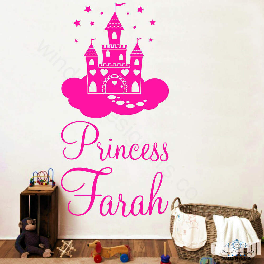 28 baby wall stickers ebay baby dolphins home decor fairy princess castle wall sticker your baby name on sticker ebay girls wall sticker giraffe cot