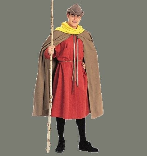 Robe And Wizard Hat: PATTERN McCALLS Hobbit Men's Cape Tunic Hat Wizard Witch S