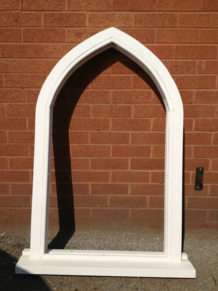 Made To Measure Gothic Shape Timber Window Wooden High