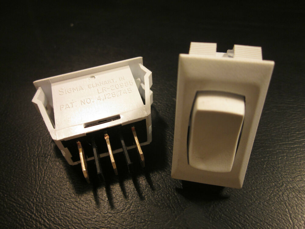 Lot Of 2 12 Volt On Off On 3 Position Switches Camper