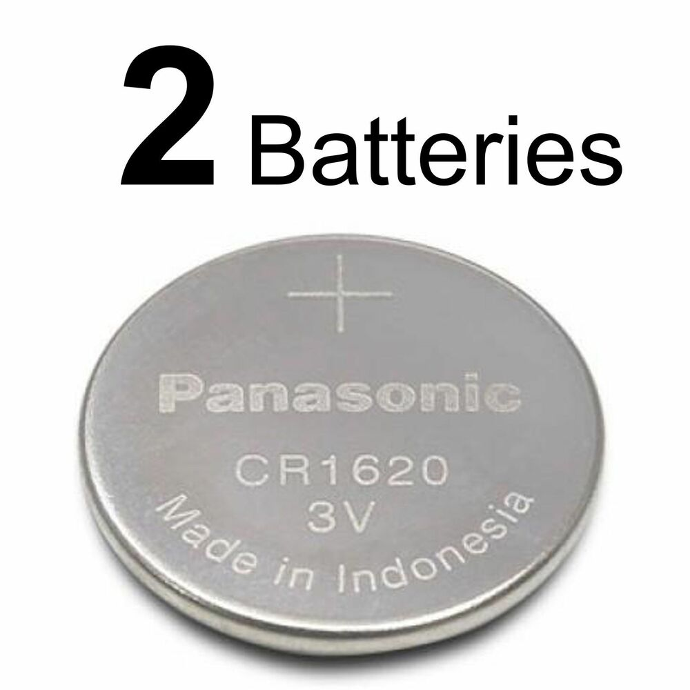 2 panasonic cr1620 ecr1620 cr 1620 3v lithium battery new ebay. Black Bedroom Furniture Sets. Home Design Ideas