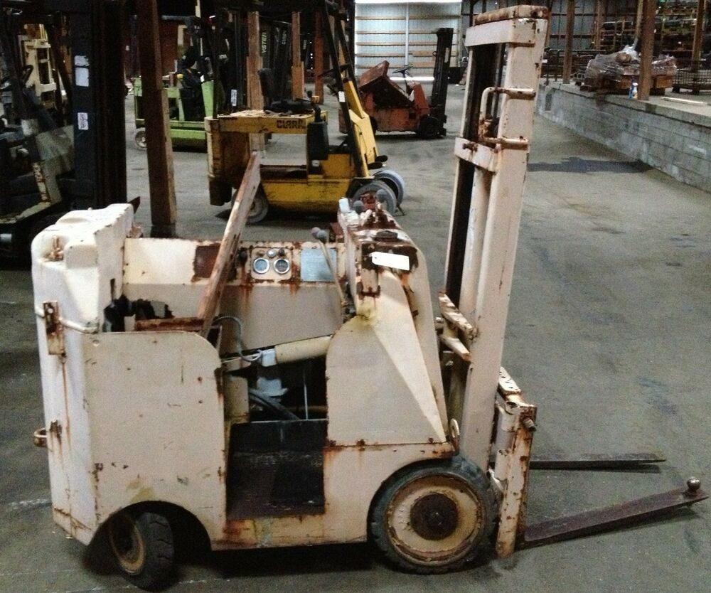 Cat towmotor lt35fm serial 3551797 non running forklift for Clark tow motor parts