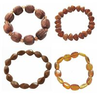 Brown Beads Stretch Bracelet Unisex Choice of Four Styles End-of-line