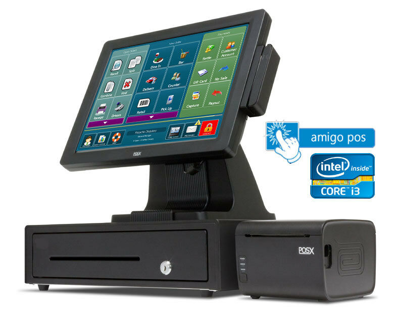 Amigo Pos Restaurant Bar Pizza Retail All In One I3 Pos
