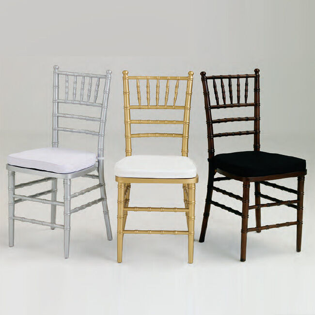 Wood Chiavari Chairs Color Choice Special Events And