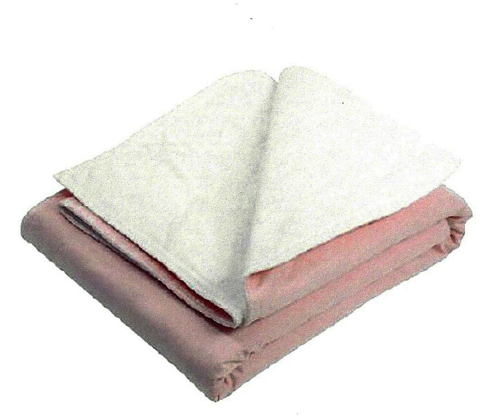 2 Washable Reusable Bed Pads Underpads Heavy Duty 36 X