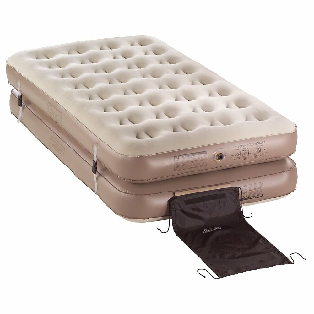 Coleman 4-N-1 Inflatable QuickBed Air Mattress - 2 Twin or ...