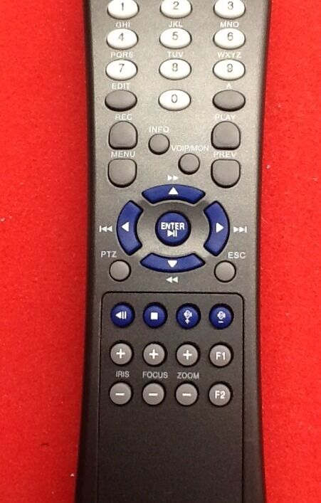Hikvision Remote Control Dvr Or Nvr Compatible Ebay