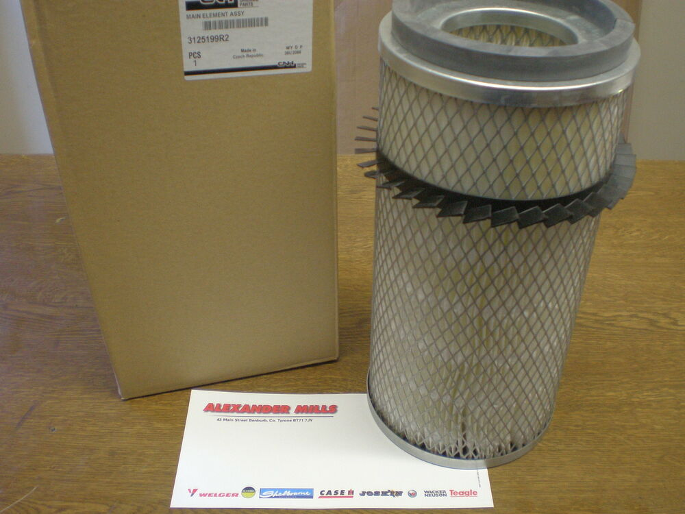 Agricultural Air Filters For Tractors : Case ih tractor genuine air filter international