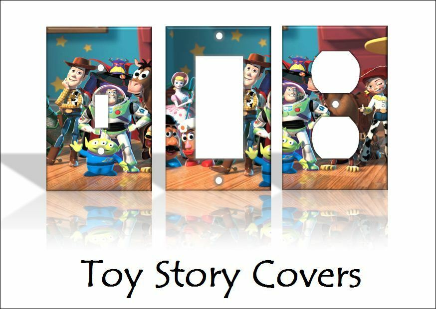 Toy Story Light Switch Covers Disney Home Decor Outlet
