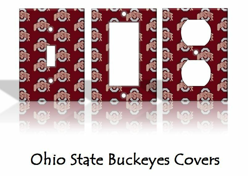 Ohio State Buckeyes Light Switch Covers Football Ncaa Home Home Decorators Catalog Best Ideas of Home Decor and Design [homedecoratorscatalog.us]