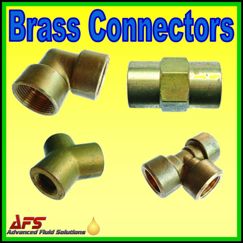 Enots Metric/Imperial Brass Compression Pipe Connector Fitting Norgren Fuel Tube | eBay  sc 1 st  eBay & Enots Metric/Imperial Brass Compression Pipe Connector Fitting ...