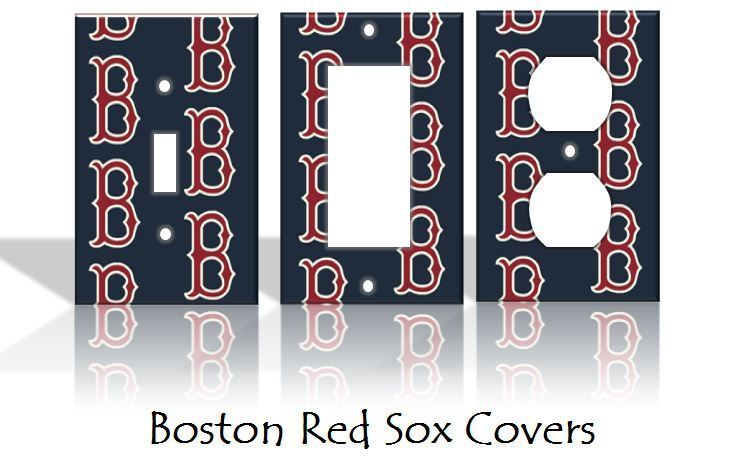 Boston Red Sox Light Switch Covers Baseball Mlb Home Decor Home Decorators Catalog Best Ideas of Home Decor and Design [homedecoratorscatalog.us]