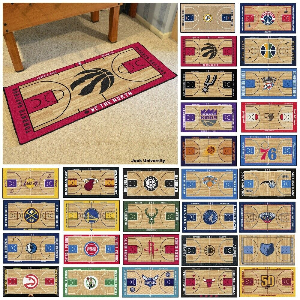 Basketball Court Rugs Home Decor