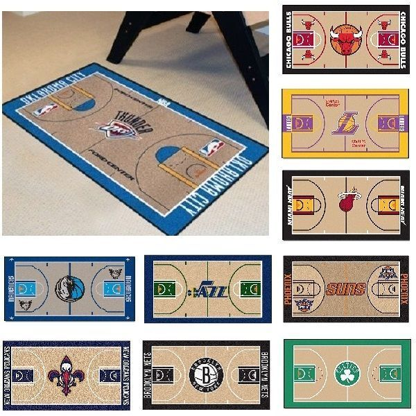 "24"" X 44"" Basketball Court Runner Area Rug"