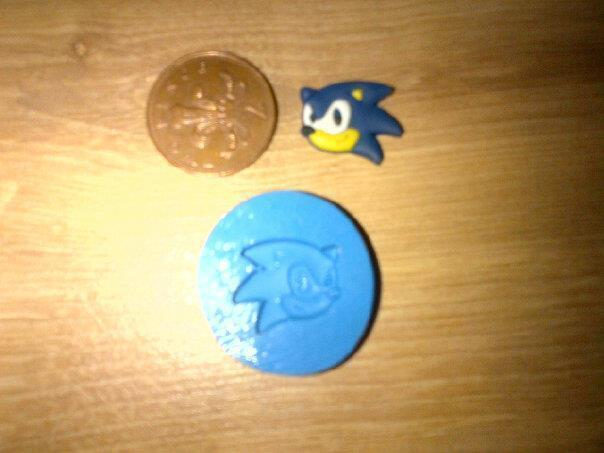 New Sonic Mould Mold Sugarcraft Fimo Polymer Clay