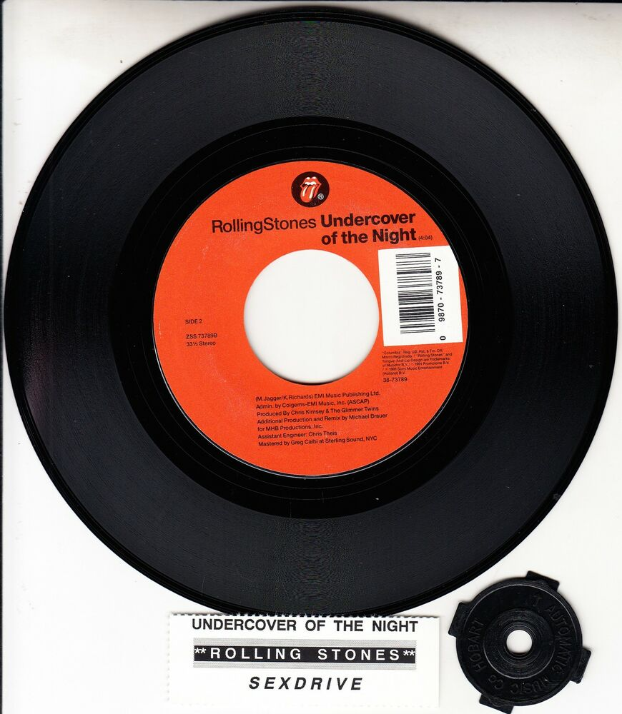Rolling Stones Undercover Of The Night Amp Sex Drive 7 Quot 33