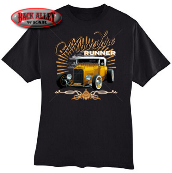 Moonshine Runner T Shirt M 3xl Classic Car Vintage