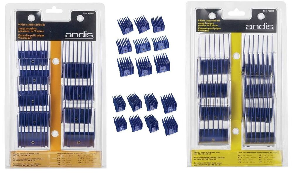 andis magnetic guide comb set