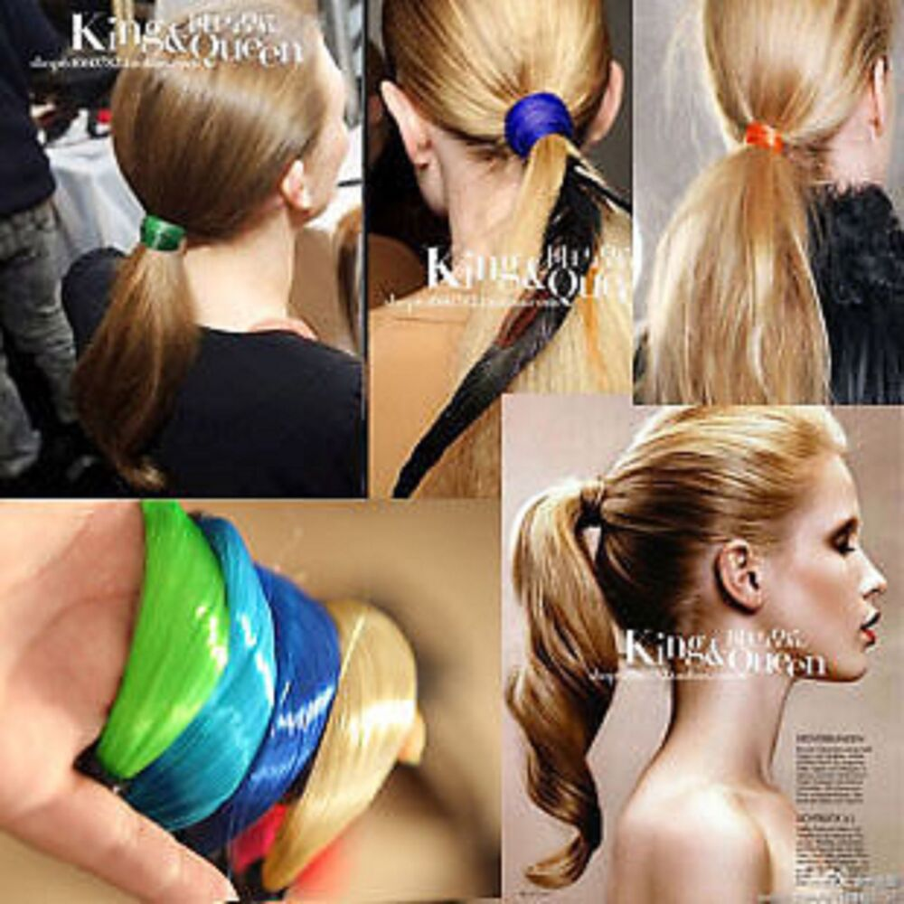 Woman 2013 Bands: Women Lady 2013 Faux Wig Ponytail Elastic Rope Head Hair