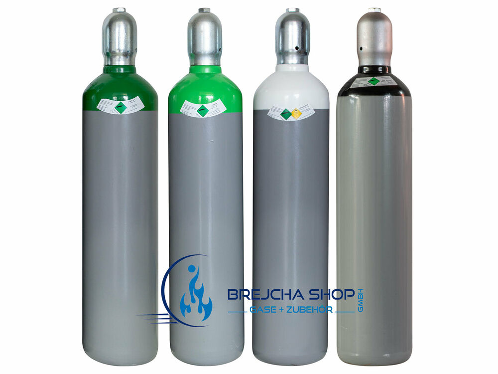 gasflasche 20 liter argon 4 6 sauerstoff schutzgas stickstoff fabrikneu ebay. Black Bedroom Furniture Sets. Home Design Ideas