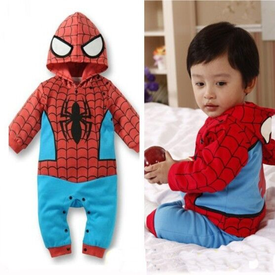 Spiderman costume By Jessie Leveler If you've not yet purchased a Halloween costume for your little boy and they're a fan of the Marvel universe, Spiderman costumes .