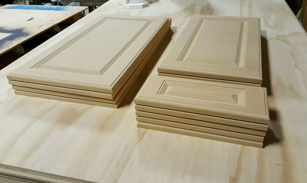 Cut To Size Mdf Raised Panel Cabinet Doors Amp Draw Fronts
