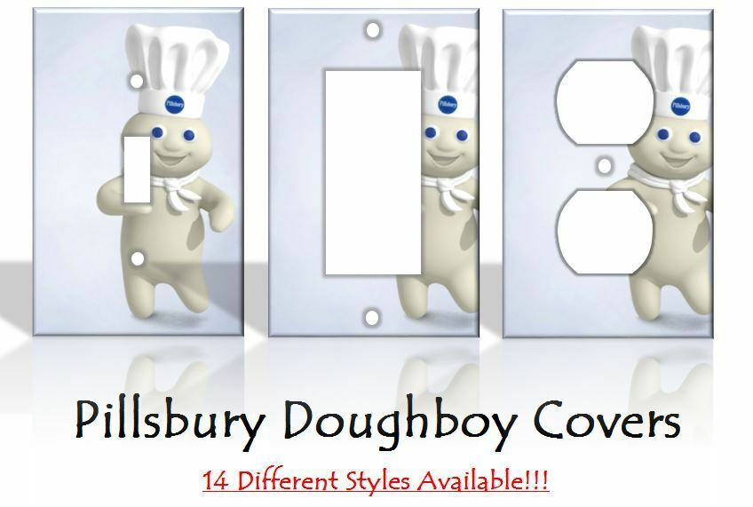 Pillsbury doughboy light switch covers home decor outlet for Home decor outlet 63125