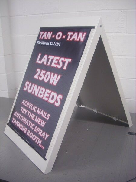 A Board Pavement Sign A1 Stand Metal Frame Large Board