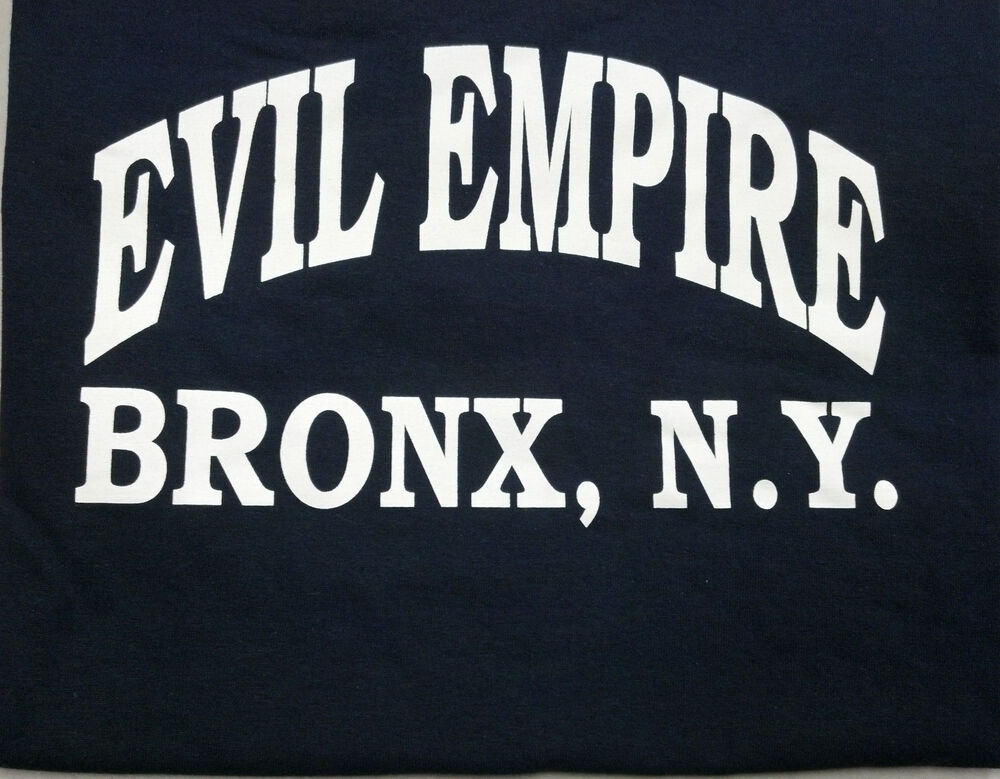 new york yankees evil empire bronx ny t shirt boston red