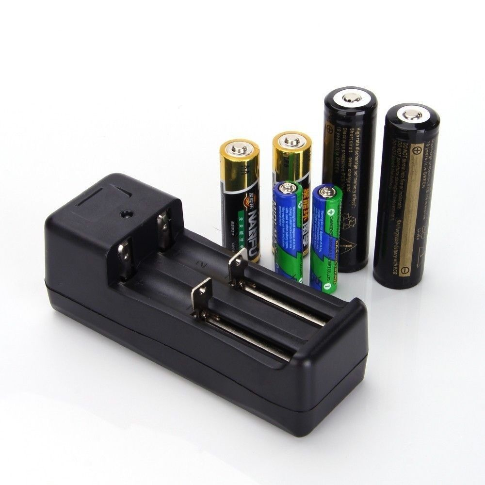 18650 14500 rcr123a lithium ni mh aa aaa rechargeable battery smart charger ebay. Black Bedroom Furniture Sets. Home Design Ideas